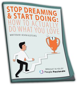 Book cover for Stop Dreaming and Start Doing: How to Actually do What You Love